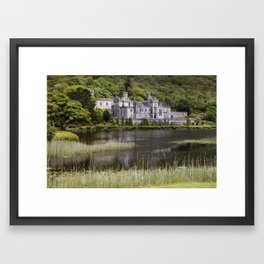 Kylemore Abbey Framed Art Print