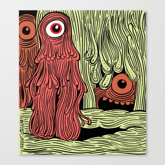 MonsterMold Canvas Print