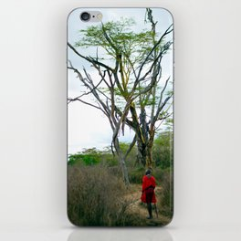 Masai Warrior iPhone Skin
