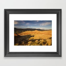 Return to the Painted Hills Framed Art Print