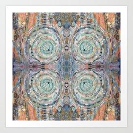 Vortexed Art Print