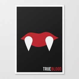 True Blood - Minimalist Canvas Print