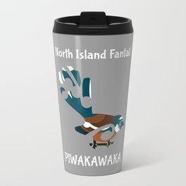 Piwakawaka | Fantail | New Zealand bird Travel Mug