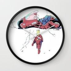 BartKira Poster Wall Clock