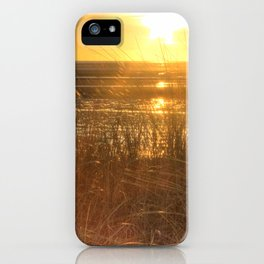 Beautiful Welsh Beach Sunset iPhone Case