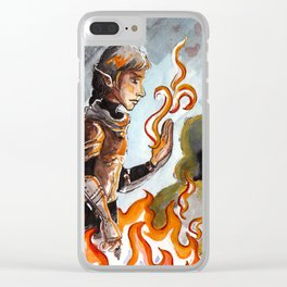 Fire Magician Clear iPhone Case