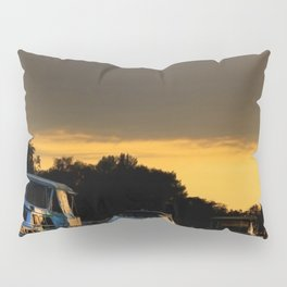 Boats on Lake Constance (Bodensee) Pillow Sham