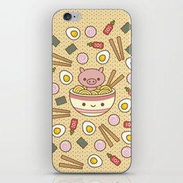 Pig-Chan Ramen Soak iPhone Skin