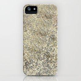 Gold Leaf Crackle Sparkle iPhone Case