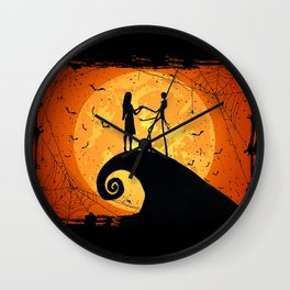 JACK SKELLINGTON AND SELLY Wall Clock
