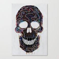 Chromatic Skull V.04 Canvas Print