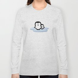 Penguins on Ice Long Sleeve T-shirt