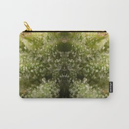 Cannabis Trichome Symmetry Abstract Carry-All Pouch
