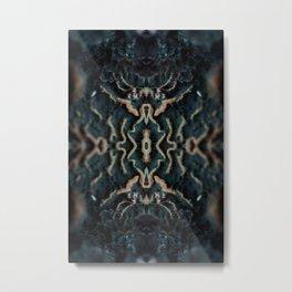 Organic signal Metal Print