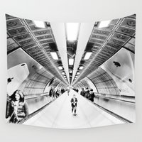 kubrick Wall Tapestries featuring The Boy From Nowhere by premedia