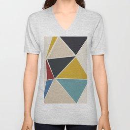 geometric 15 Unisex V-Neck