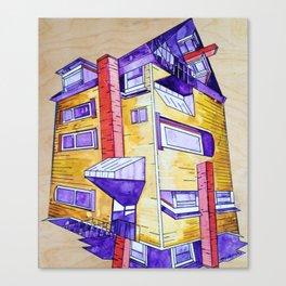 """House on Center St."" Canvas Print"
