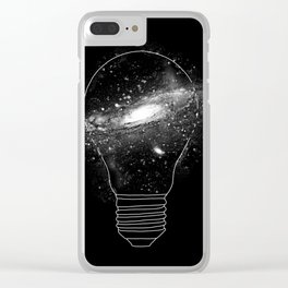 Sparkle - Unlimited Ideas Clear iPhone Case