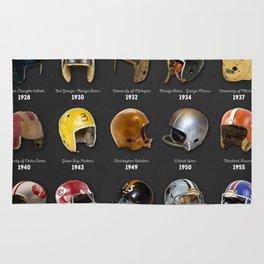 The Evolution of the NFL Helmet Rug