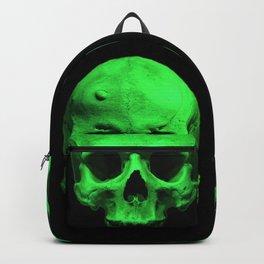 Skull quartet green Backpack
