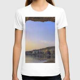 Sea Arch Cavo Greko National Park Cape Greco Ayia Napa Cyprus Ultra HD T-shirt