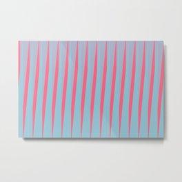 Vertical Slant Metal Print