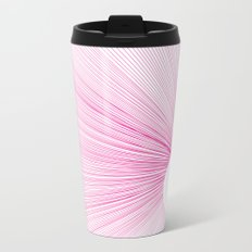 Line Metal Travel Mug