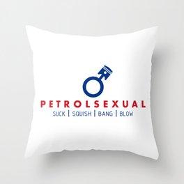 PETROLSEXUAL v5 HQvector Throw Pillow