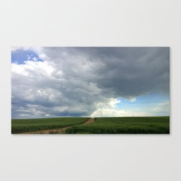 Supercell Thunderstorm, Montana 2013 (color) Canvas Print