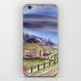 By The Light of The Silvery Moon iPhone Skin