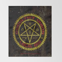 Occultist Union Local 666    019 Throw Blanket