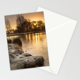 A Winter's Morn Stationery Cards