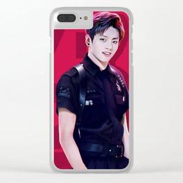 BTS - JungKook Clear iPhone Case
