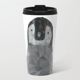 Low Poly Penguin Travel Mug
