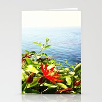 big sur Stationery Cards featuring Big Sur by Jennie Hicks - Dharma Eco Art