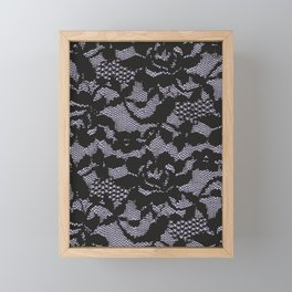 Lace Framed Mini Art Print
