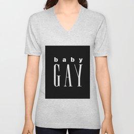 Baby Gay Unisex V-Neck