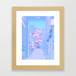 Shibuya Framed Art Print