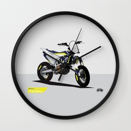 Supermoto 701 Wall Clock