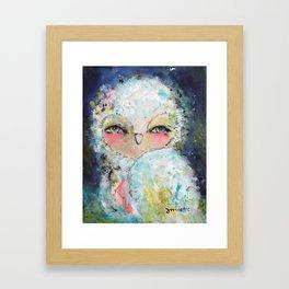 Sweet Dreams Owl Framed Art Print