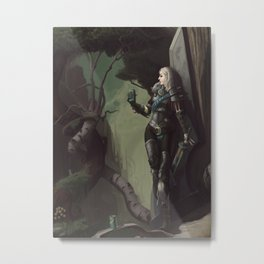 Ascension XXXIV - Lox Metal Print