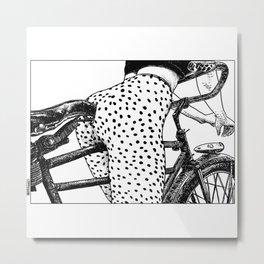 asc 409 - Le velociraptor (The velociraptor) Metal Print