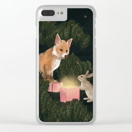 the peace offering Clear iPhone Case