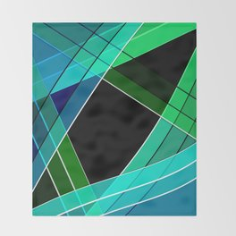 Abstract pattern 8 Throw Blanket