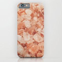 Himalayan Pink Salt Crystals iPhone Case