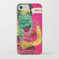 titan iPhone & iPod Cases featuring Titan by Alec Goss