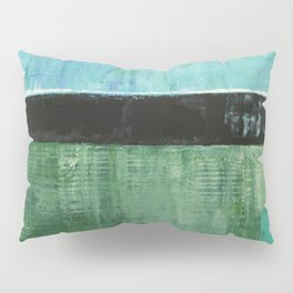 Sky Blue Sky Contemporary Abstract Landscape McNulty Pillow Sham