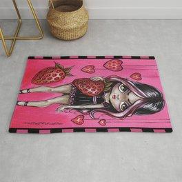 Strawberry Lolita Rug