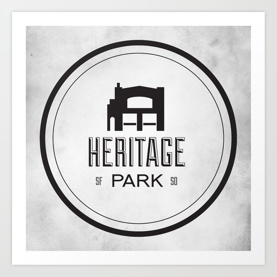 Heritage Park Art Print