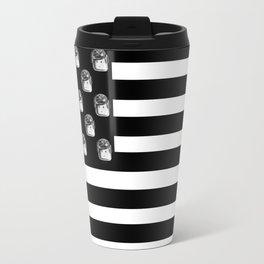 US Minifigure Flag - Horizontal Travel Mug